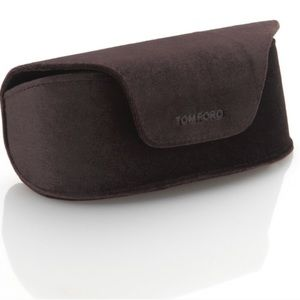 Tom Ford Sunglasses Case and Cleaning Cloth